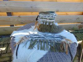 Bootbelts met bedels en mooie versiering in Bohemia- Gipsy- Ibiza look