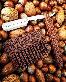 Rune Short Wooden Comb