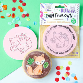 SweetStamp - Outboss paint your own - Fox