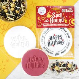 SweetStamp OUTboss - Spell Bound Happy Birthday