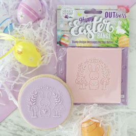 SweetStamp - Outboss Easter Toadstool Bunny