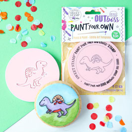SweetStamp - Outboss paint your own - Dino