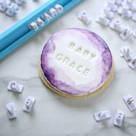 Sweet Stamp  - Mini  Message Alphabet