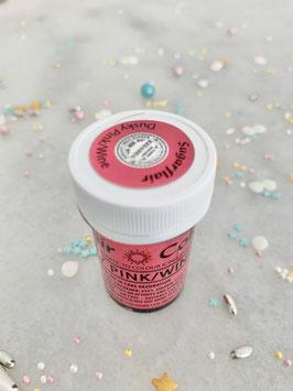 Sugarflair, Dusky Pink/wine