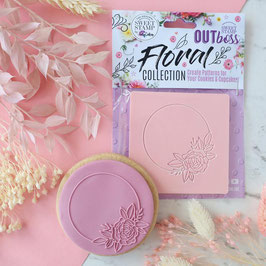 SweetStamp - Outboss floral collection - Circle floral frame