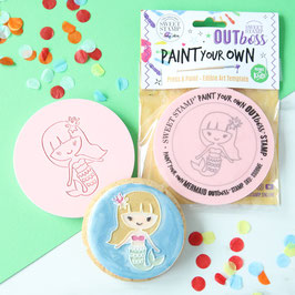 SweetStamp - Outboss paint your own - Mermaid