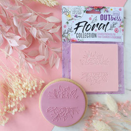SweetStamp - Outboss floral collection - Peony frame