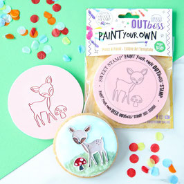 SweetStamp - Outboss paint your own - Deer