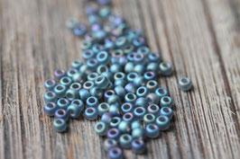 Grau-blau matt //Rocailles klein