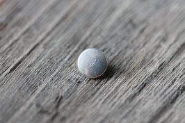 Kreis //Silberschieber für Leder flach schmal & Stoffbänder