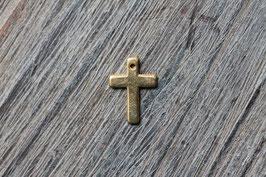 Kreuz breit //Goldanhänger