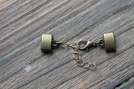 Bronzeverschluss //flach