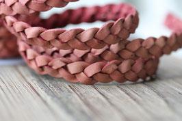 Rosenholz //Leder flach breit