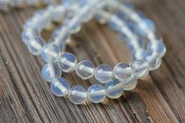 Opal weiß //Perlenstränge Edelstein