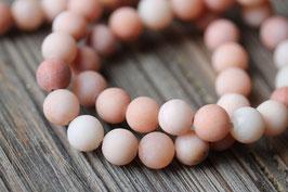 Jade rot //Perlenstränge Edelstein