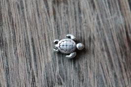 Schildkröte //Silberperle für Wachskordel