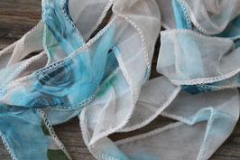 Blaue Rose //Seide
