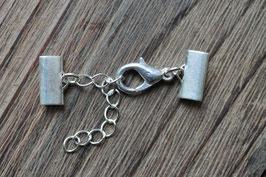 Silberverschluss //flach