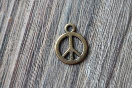 Peace //Bronzeanhänger