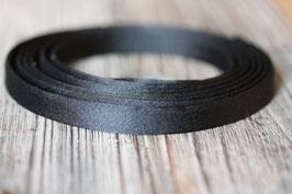 Schwarz //SToffband flach breit