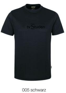HAKRO 287 T-Shirt COOLMAX  005 schwarz (schwarzes Logo)