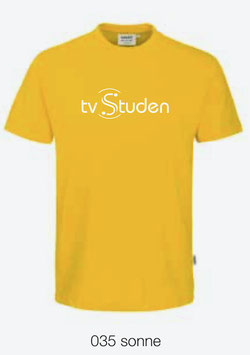 HAKRO 210 Kids-T-Shirt Classic 035 sonne (weisses Logo)