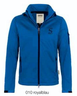 HAKRO 848 Softshelljacke 010 royalblau (schwarzes Logo)