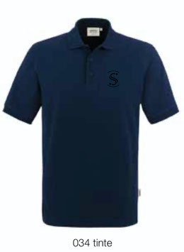 HAKRO 810 Poloshirt Classic 034 tinte (schwarzes Logo)