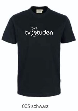 HAKRO 292 T-Shirt Classic 005 schwarz (weisses Logo)