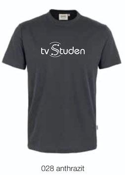 HAKRO 292 T-Shirt Classic 028 anthrazit (weisses Logo)