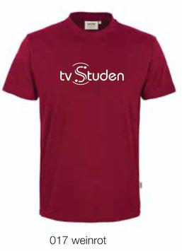 HAKRO 292 T-Shirt Classic 017 weinrot (weisses Logo)