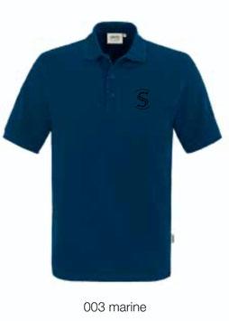HAKRO 810 Poloshirt Classic 003 marine (schwarzes Logo)