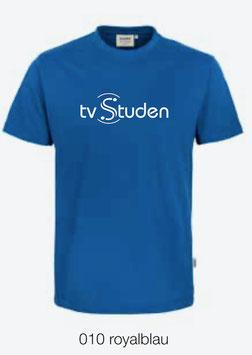 HAKRO 210 Kids-T-Shirt Classic 010 royalblau (weisses Logo)