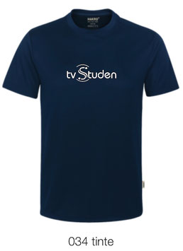 HAKRO 287 T-Shirt COOLMAX  034 tinte (weisses Logo)