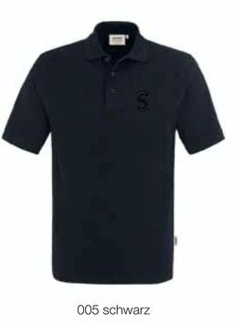 HAKRO 810 Poloshirt Classic 005 schwarz (schwarzes Logo)