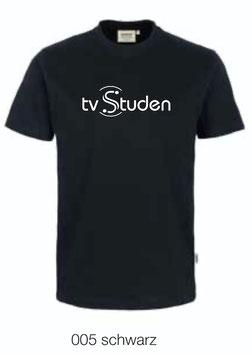 HAKRO 210 Kids-T-Shirt Classic 005 schwarz (weisses Logo)