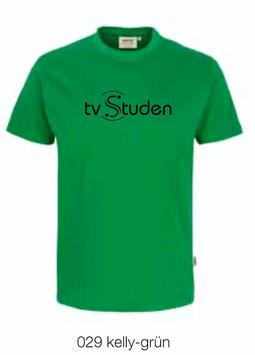 HAKRO 210 Kids-T-Shirt Classic 029 kelly-grün (schwarzes Logo)
