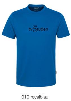 HAKRO 287 T-Shirt COOLMAX  010 royalblau (schwarzes Logo)