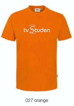 HAKRO 210 Kids-T-Shirt Classic 027 orange (weisses Logo)