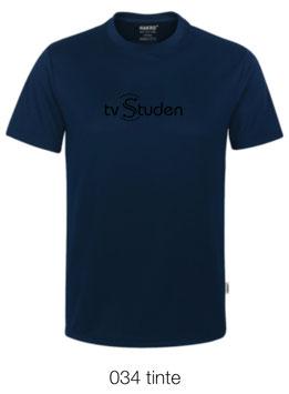 HAKRO 287 T-Shirt COOLMAX  034 tinte (schwarzes Logo)