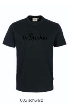 HAKRO 210 Kids-T-Shirt Classic 005 schwarz (schwarzes Logo)