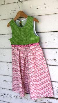 Röckli hellgrün/rosa Kirschen