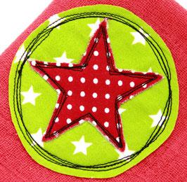 Nuscheli rot mit Stern