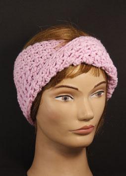 Merino Stirnband rosa