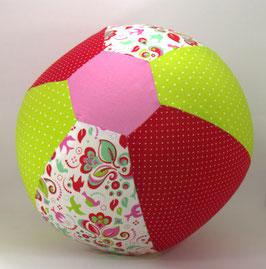 Ballonball gross rot/hellgrün