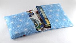 Hülle für Pixibücher Cupcake/hellblau