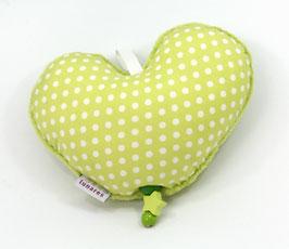 Spieluhr Herz hellgrün