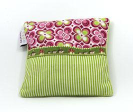 Weizen Wärmekissen pink/hellgrün Igel