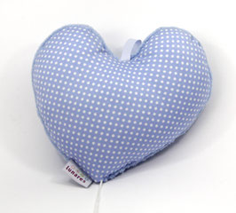Spieluhr Herz hellblau