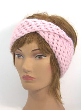 Alpaka Stirnband rosa